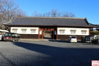 関宿城大手門